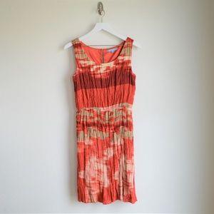 Antonio Melani Red Textured Dress